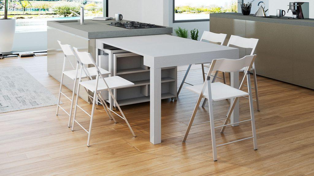 Il tavolo da pranzo classico o moderno arredo creativo - Tavolo consolle mercatone uno ...