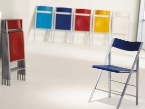 Sedia salvaspazio slim arredo creativo tavoli allungabili