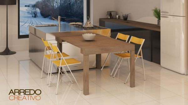 tavolo estraibile cucina
