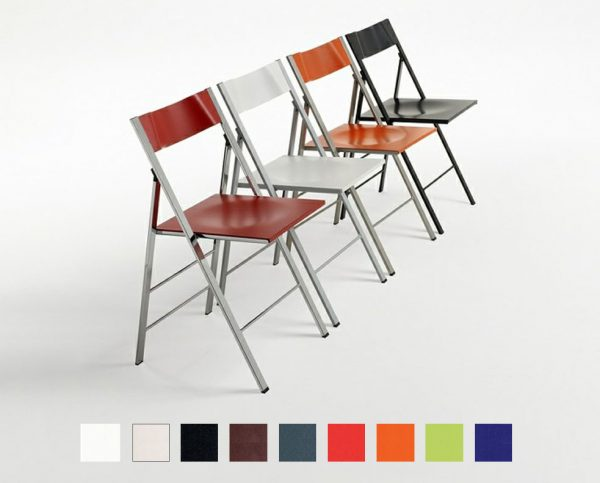 sedia slim colore