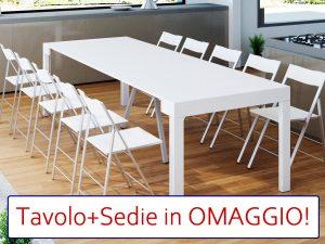 tavolo consolle allungabile Maya bundle offerta