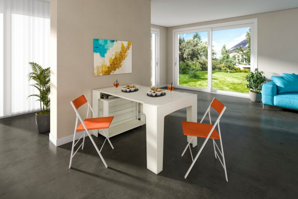 tavolo consolle allungabile Maya Yang - penisola cucina