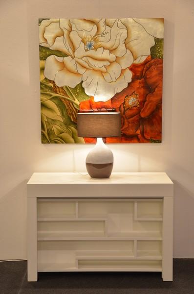 tavolo consolle allungabile maya - brevetto salvaspazio - Tavolo Allungabile Con Sedie