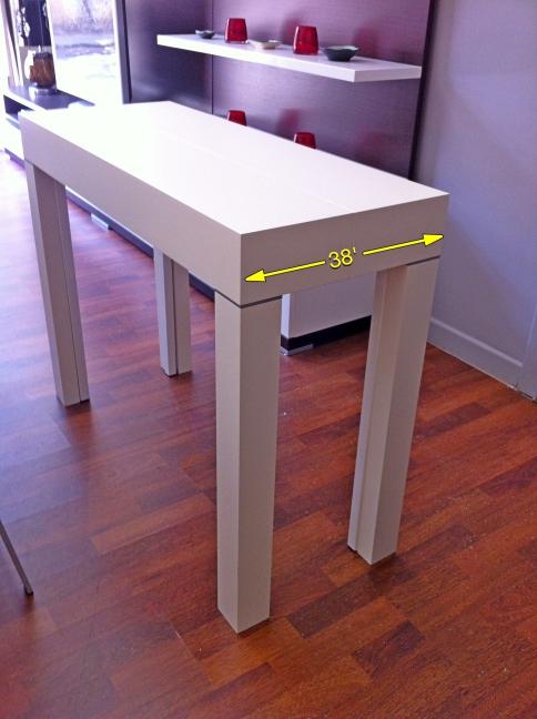 MAYA COMPACT, il nuovo tavolo consolle da 12 posti profondo 38 cm ...