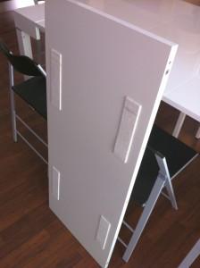 tavole di prolunga tavolo con feltro